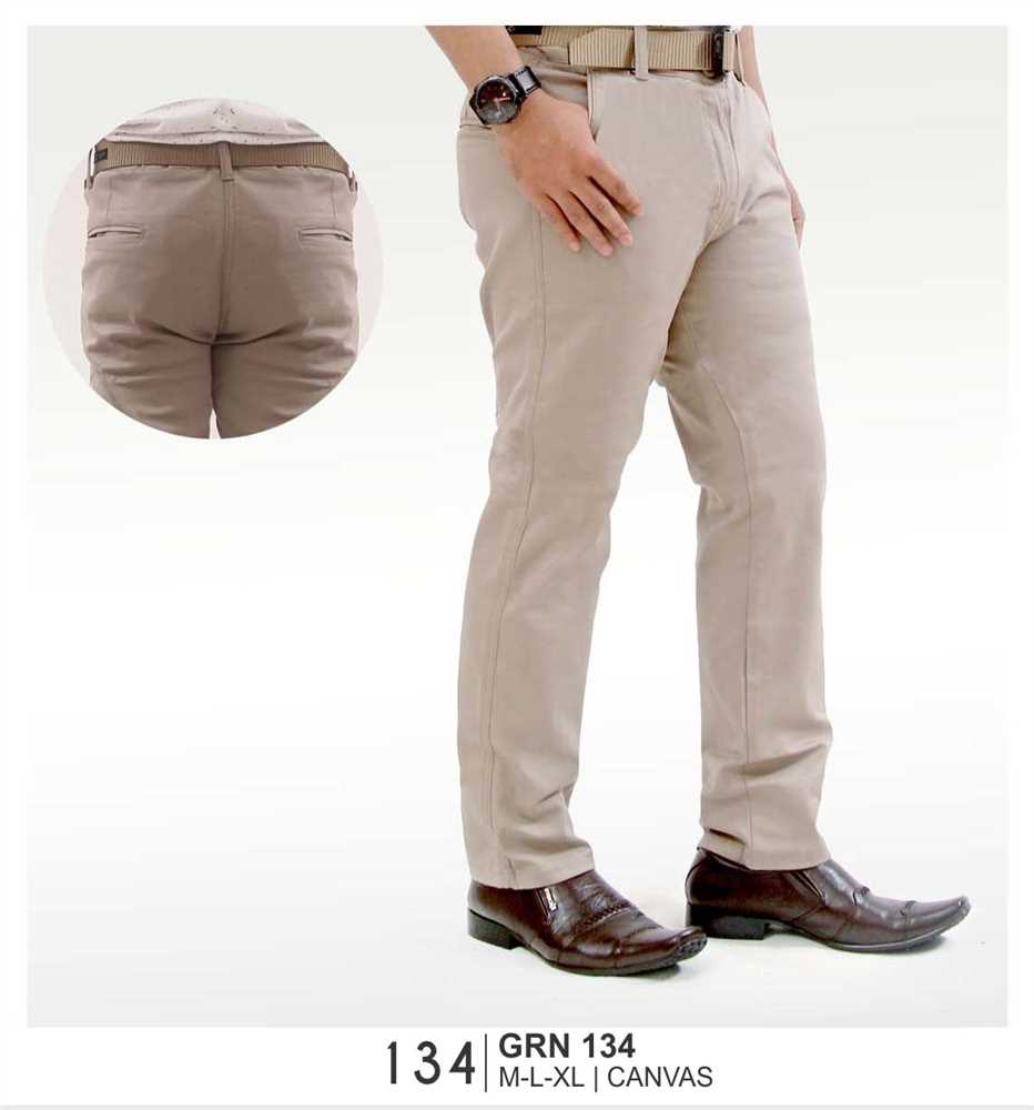 Celana Dewasa Pria Giardino GRN 134