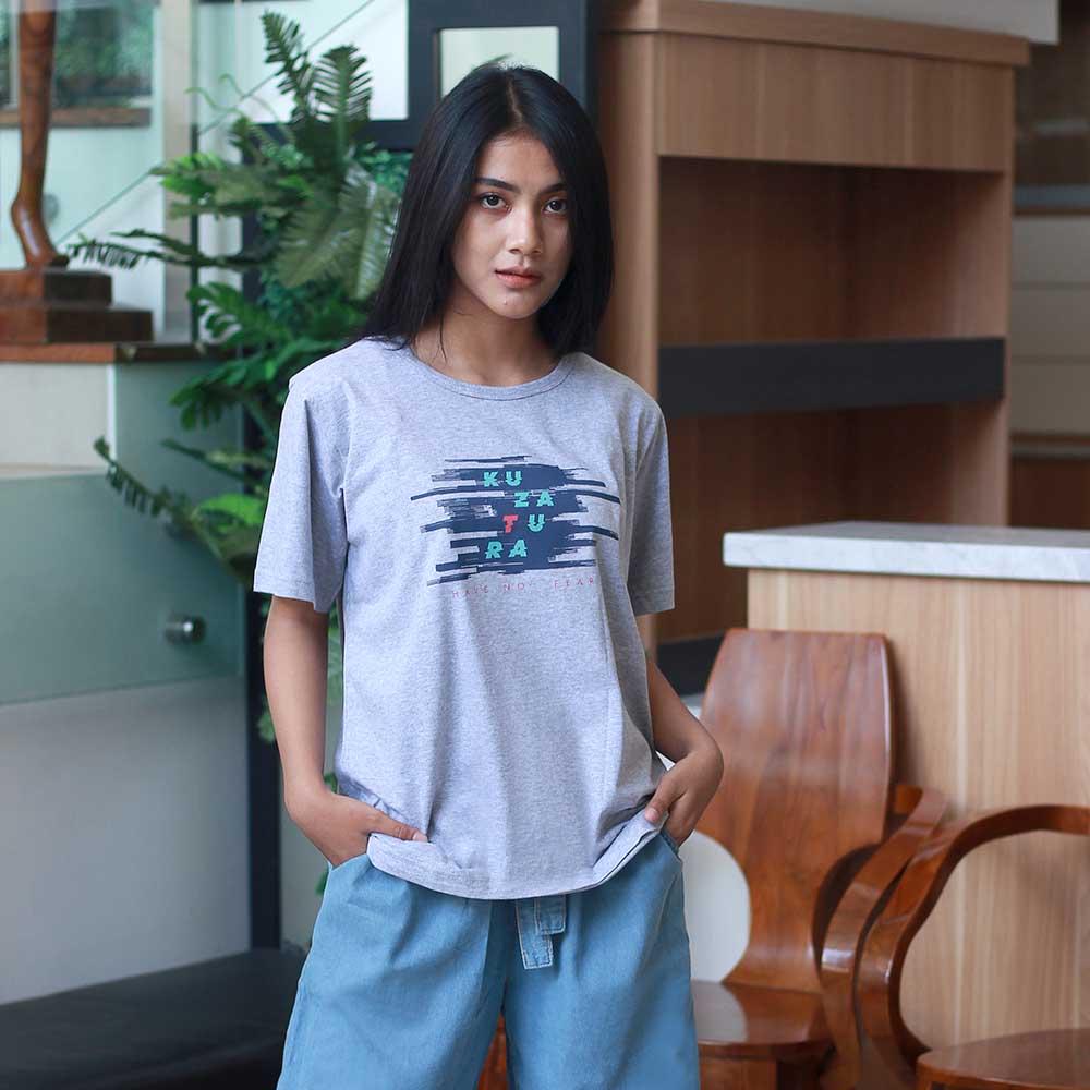 T-Shirt Casual Wanita KRO KZR 232
