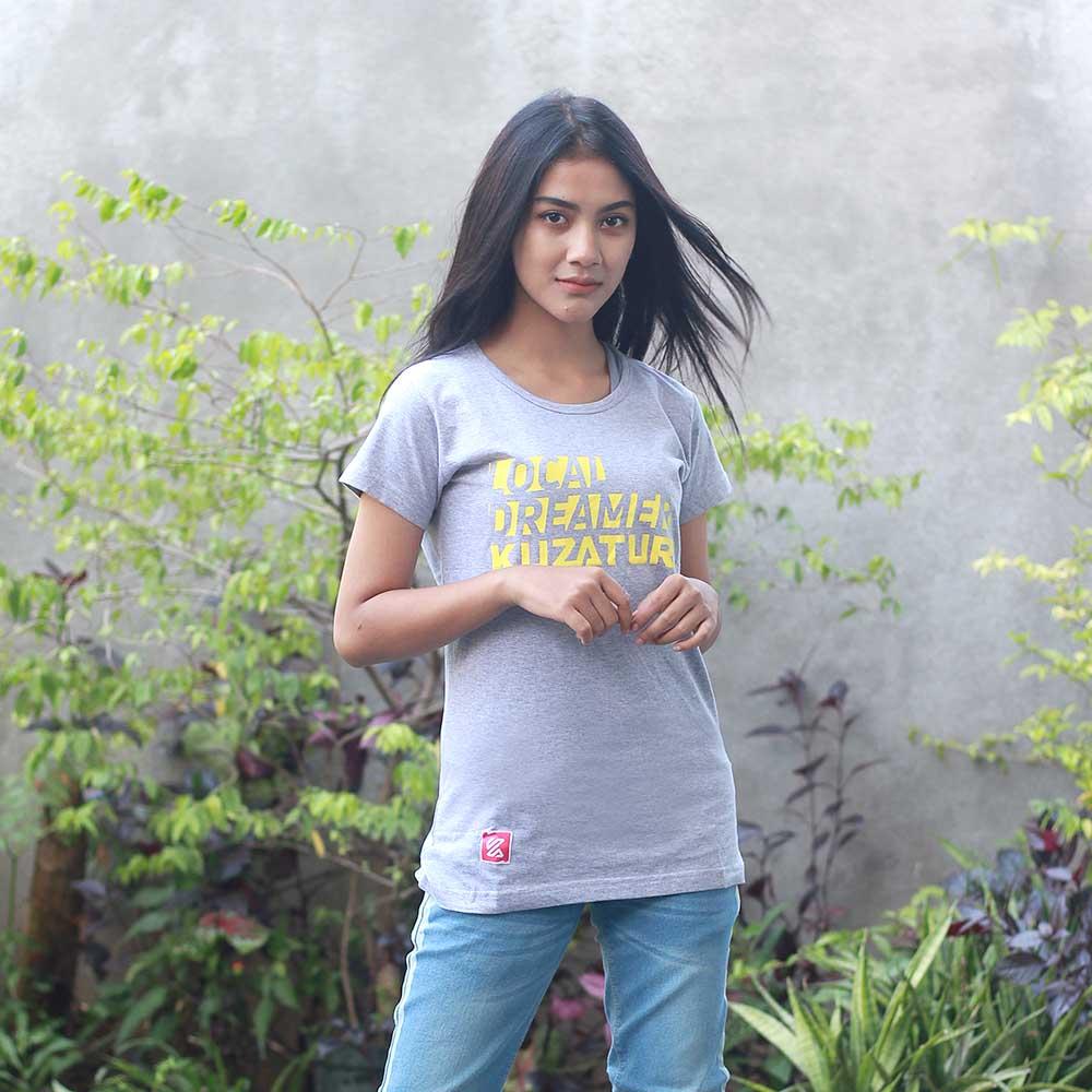 T-Shirt Casual Wanita KRO KZR 848