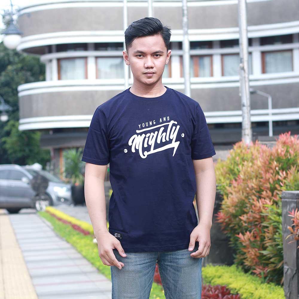 T-Shirt Casual Pria KMT KZR 657