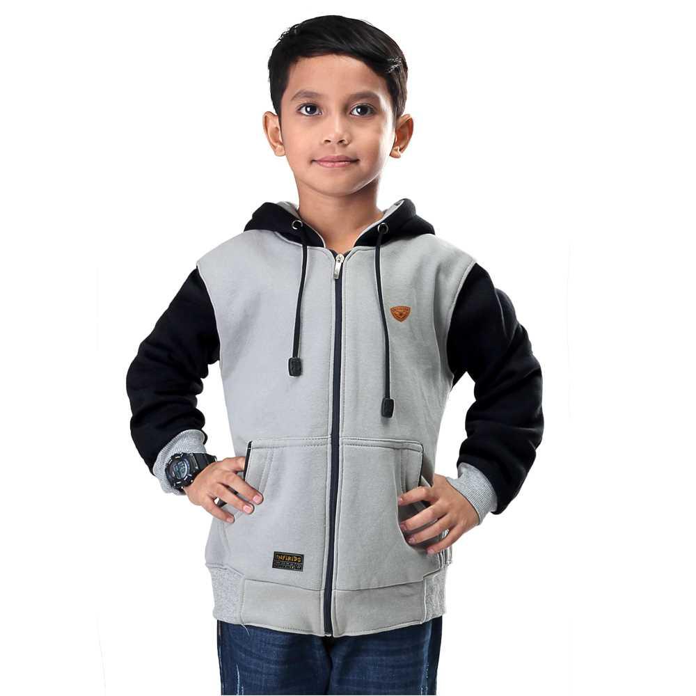 Jaket Hoodie Anak Laki-Laki IBR KID 435