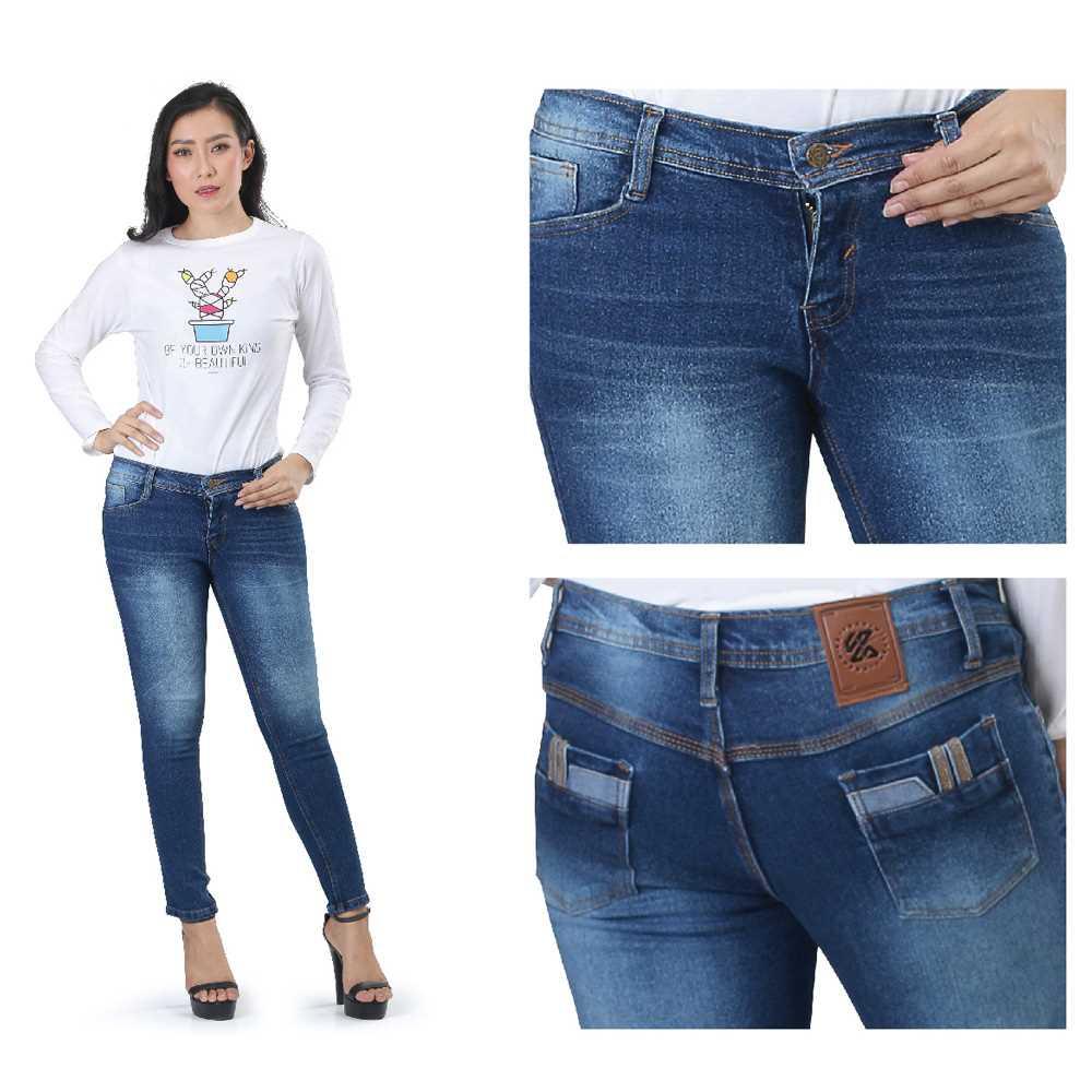 Celana Jeans Wanita KCP KZR 823