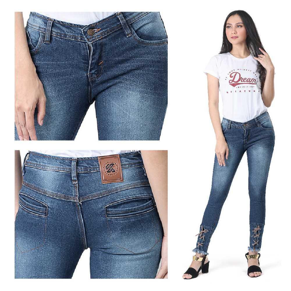 Celana Jeans Wanita KCP KZR 696