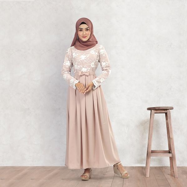 Baju Gamis Wanita Deloxa Boutique MM 844