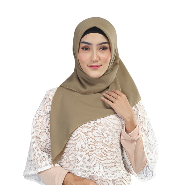 Kerudung Wanita Segi 4  Zanetta Hijab PM 370 Water Proof