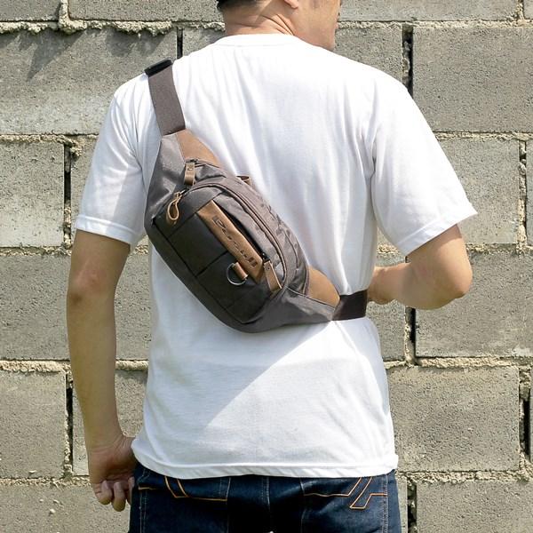 Tas Waist Bag Pria Tokha Bag XM 094