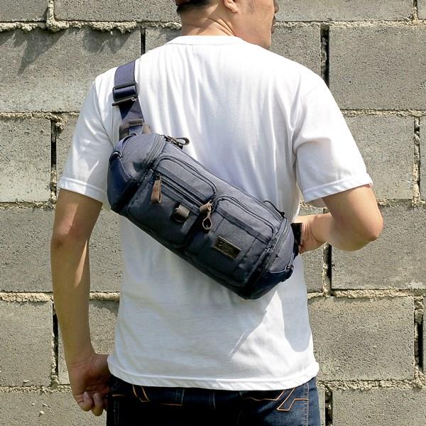 Tas Waist Bag Pria Tokha Bag XM 222