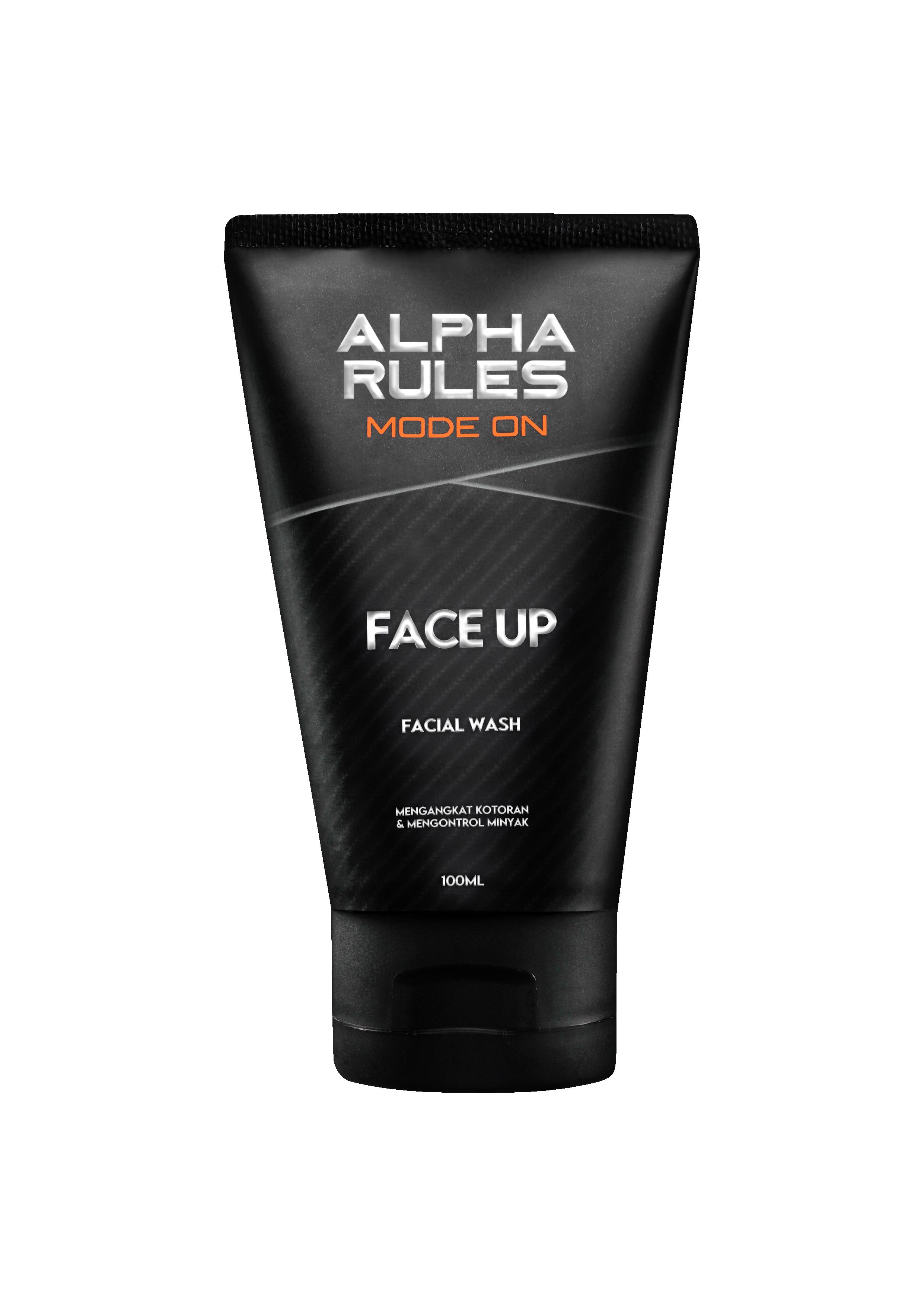 Facial Wash Face Up