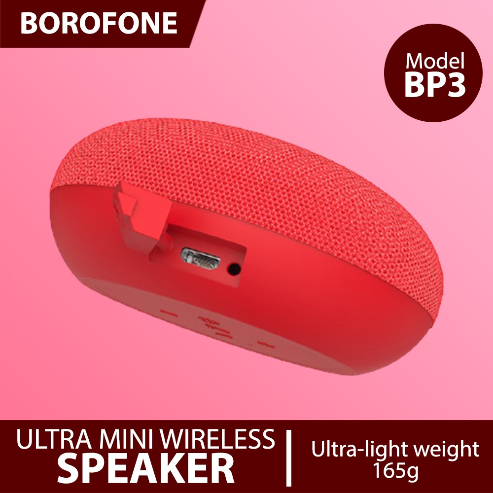 BORO BP3 Bluetooth Speaker Gray