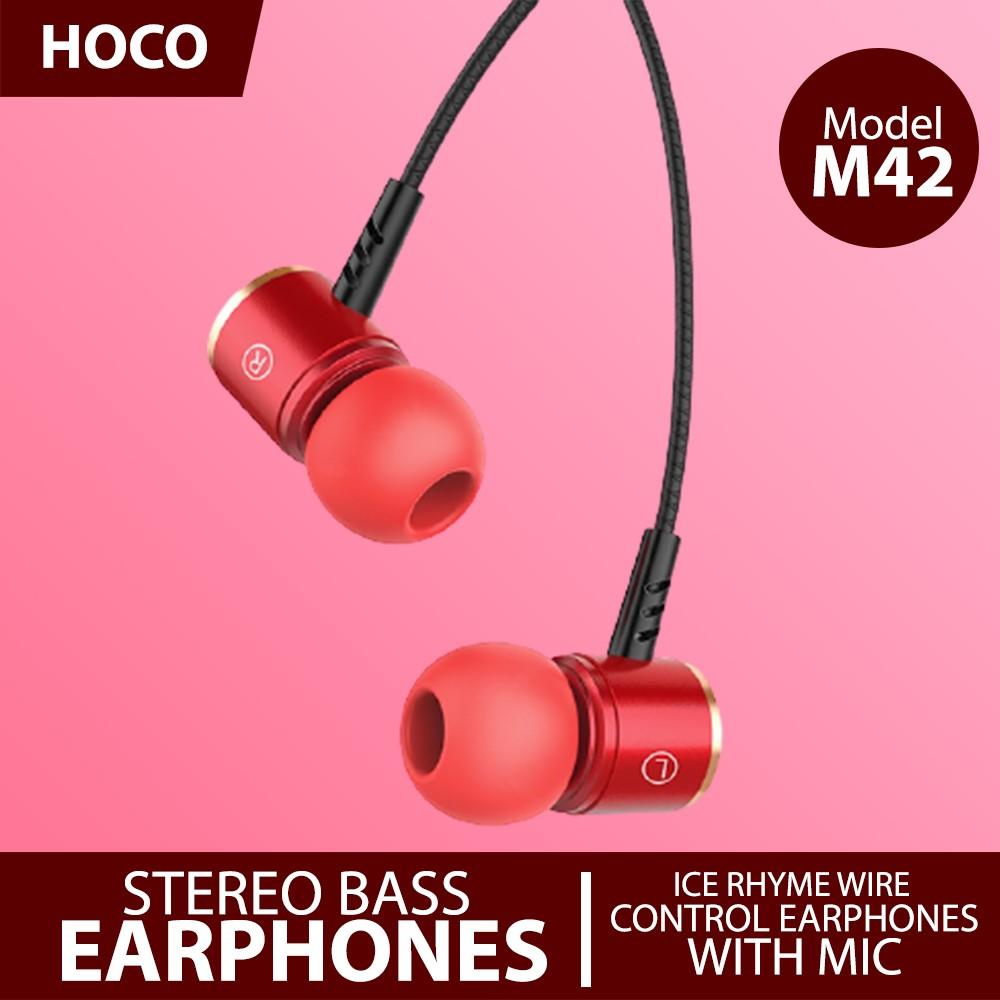 HOCO Earphone M42 Silver