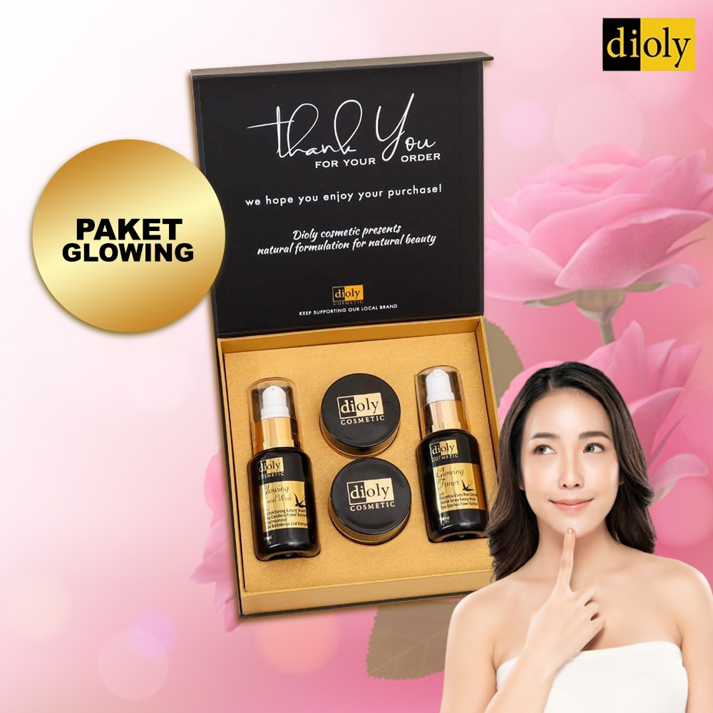 Dioly Cosmetic Glowing Series - Paket