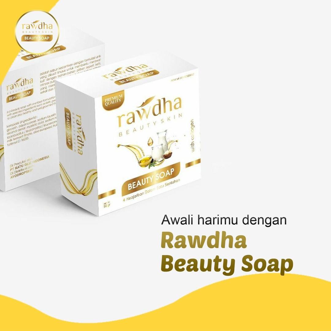Sabun Collagen Rawdha - 1 Pcs