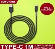 BOROFONE Cable BX11 USB-C BLACK