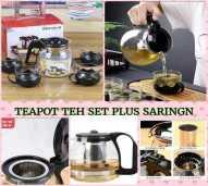 Tea pot tea bahan kaca
